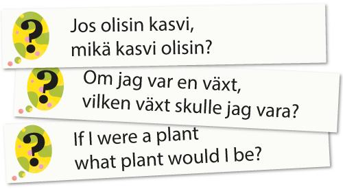 Jossittelukysymykset eri kielillä