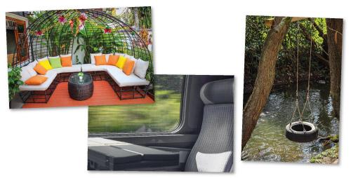 Millä tuolilla istut? -kuvasarjan esimerkkivalokuvia.