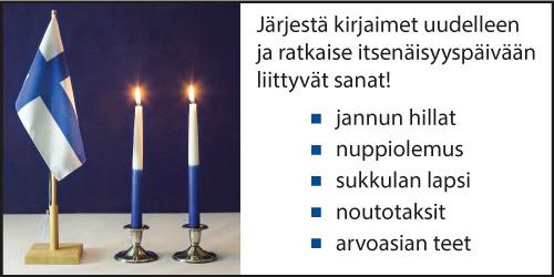Itsenäisyyspäivä-sanapeli.