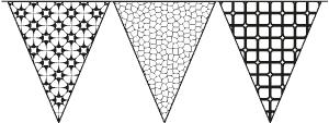 Värityskuvat ja nimet -malli