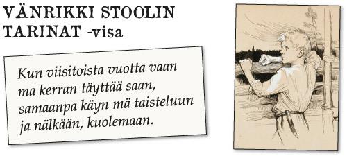 Runebergin päivä - Vänrikki Stoolin tarinat -kuvavisa