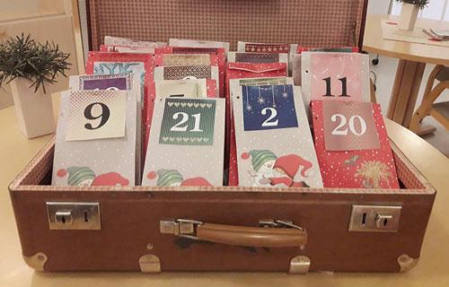 Joulukalenteri matkalaukussa, Moisiokoti, Nousiainen.